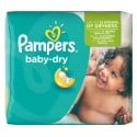 25 Couches Pampers Baby Dry taille 5+ sur Sos Couches