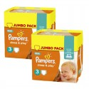 410 Couches Pampers Sleep & Play taille 3 sur Sos Couches