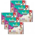 224 Couches Pampers Active Fit - Pants taille 4 sur Sos Couches