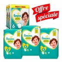 168 Couches Pampers New Baby - Premium Protection taille 6 sur Sos Couches