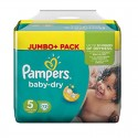72 Couches Pampers Baby Dry taille 5 sur Sos Couches