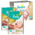 242 Couches Pampers Premium Care - Prima taille 2 sur Sos Couches