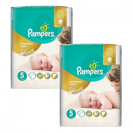 104 Couches Pampers Premium Care - Prima taille 5 sur Sos Couches