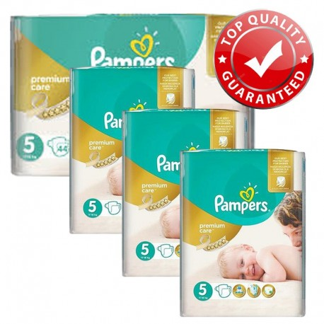 416 Couches Pampers Premium Care - Prima taille 5 sur Sos Couches