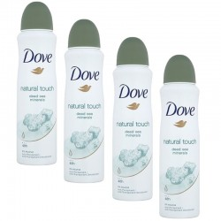 4 Deodorants Dove Natural Touch