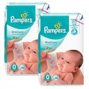 76 Couches Pampers ProCare Premium protection taille 0 sur Sos Couches