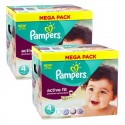 840 Couches Pampers Active Fit - Premium Protection taille 4 sur Sos Couches