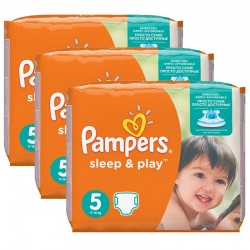 116 Couches Pampers Sleep & Play taille 5