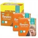 150 Couches Pampers Sleep & Play taille 6 sur Sos Couches
