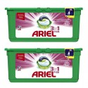 Lot de 2 Ariel Pods 28 Fresh Sensations 3in1 (795,2 gr) sur Sos Couches