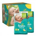 Maxi Giga Pack 210 couches Pampers Baby Dry sur Sos Couches