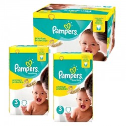 150 Couches Pampers premium protection taille 3