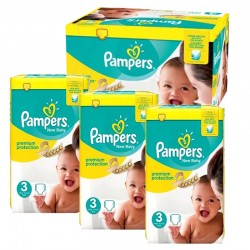 300 Couches Pampers premium protection taille 3