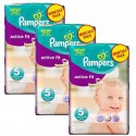 282 Couches Pampers Active Fit taille 5 sur Sos Couches
