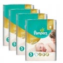 240 Couches Pampers Premium Care - Prima taille 5 sur Sos Couches
