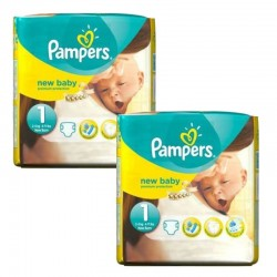 46 Couches Pampers new baby - premium protection taille 1