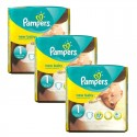 69 Couches Pampers new baby - premium protection taille 1 sur Sos Couches