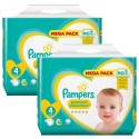 156 Couches Pampers new baby - premium protection taille 4 sur Sos Couches