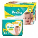 390 Couches Pampers new baby - premium protection taille 4 sur Sos Couches