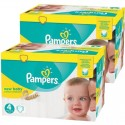 585 Couches Pampers new baby - premium protection taille 4 sur Sos Couches
