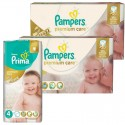 320 Couches Pampers Premium Care - Prima taille 4 sur Sos Couches
