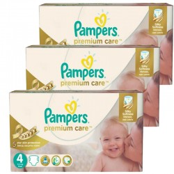 420 Couches Pampers Premium Care - Prima taille 4