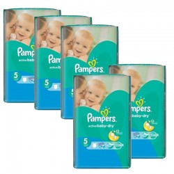352 Couches Pampers Active Baby Dry taille 5