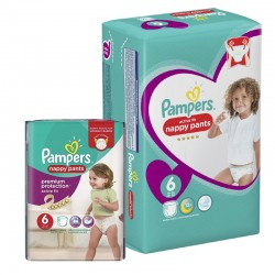 112 Couches Pampers Active Fit - Pants taille 6