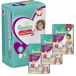 140 Couches Pampers Active Fit - Pants taille 6