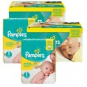 384 Couches Pampers new baby - premium protection taille 1 sur Sos Couches