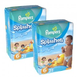 42 Couches Pampers Swimming Pants Splachers taille 6