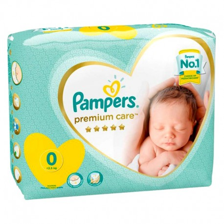 30 Couches Pampers New Baby Premium Care taille 0 sur Sos Couches