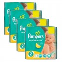 215 Couches Pampers New Baby Dry taille 2 sur Sos Couches