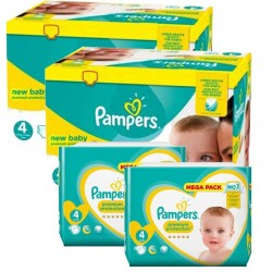 574 Couches Pampers New Baby Premium Protection taille 4