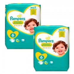 111 Couches Pampers New Baby Premium Protection taille 6