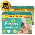116 Couches Pampers Active Baby Dry sur Sos Couches