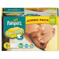 280 Couches Pampers New Baby 1