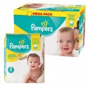 155 Couches Pampers New Baby Premium Protection taille 2 sur Sos Couches