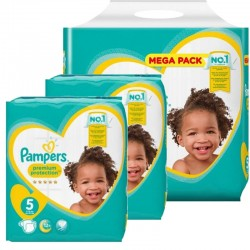330 Couches Pampers New Baby Premium Protection taille 5