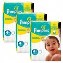 100 Couches Pampers New Baby Premium Protection taille 4+ sur Sos Couches