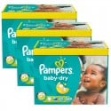 224 Couches Pampers Baby Dry taille 5+ sur Sos Couches
