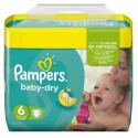 124 Couches Pampers Baby Dry 6 sur Sos Couches
