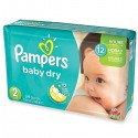 290 Couches Pampers Baby Dry taille 2 sur Sos Couches